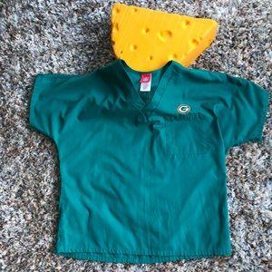Green Bay Packers NFL Scrub Top